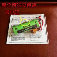 SANYO CR17450SE-R 3V A98L-0031-0012 A02B-0200-K102 Battery with Resist #T4031 YS