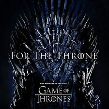 VARIOUS - FOR THE THRONE (MUSIC INSPIRED BY THE HBO SERIES GAME OF THRONES) (CD)