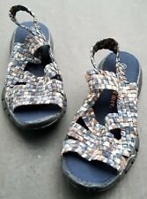 Bernie Mev Cindy Women Size 6  Multi Color Sandal 36