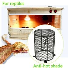 12x16cm Round Reptile Heat Lamp Light Bulb Mesh Cage Protector Guard Enclosure