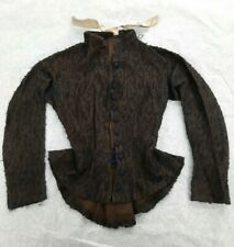 Vintage 1880s Women's Wool Dress Jacket