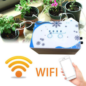Garden Automatic Watering Device Drip Irrigation Tools Pump Timer System Control