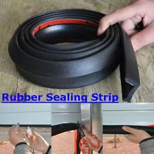2 Meters Garage Door Protection Sealing Strip Weatherproof Rubber Seal Tape Tool