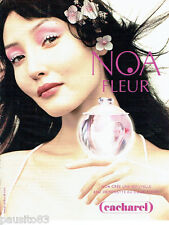 PUBLICITE ADVERTISING 016  2003  CACHAREL   parfum Noa Fleur