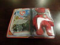 McDonald's International Teenie Beanie Babies II 2000 Osito Retired #4294