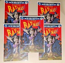 LOT of 5 All Star Batman #1 Color Variant ONLY 3000 MADE! MCFARLANE HOMAGE COVER