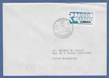Brasilien ATM BRASILIANA'93 Mi.-Nr. 5  Wert 17000 auf Brief mit PLF XXI