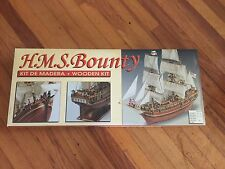 """Constructo wooden model ship kit: the """"HMS Bounty"""" Museum quality Kit unbuil"""
