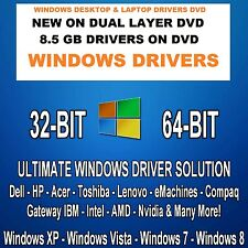 LAPTOP DESKTOP ALL WINDOWS DRIVERS TOSHIBA DELL ACER LENOVO COMPAQ IBM HP GATEWY