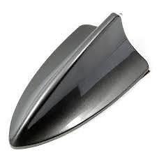 Rear Shark Fin Aerial AM/FM Antenna fits FIAT STILO Grey