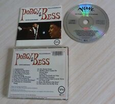 CD ALBUM PORGY & BESS ELLA FITZGERALD AND LOUIS ARMSTRONG 14 TITRES WEST GERMANY