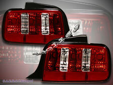 2005-2009 FORD MUSTANG GT TAIL LIGHT RED STYLE PAIR 2006 2007 2008