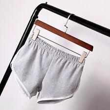 Mujer Ejercicio Deporte Pantalones Cortos de Jogging Gimnasio Fitness Yoga