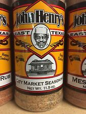 JOHN HENRY'S East Texas CITY MARKET BBQ Dry Rub - Only from SIR BBQ