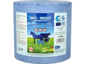 S.I.N. HELLAS Anti-Insect Mineralleckstein für Pferde 5 kg Leckstein