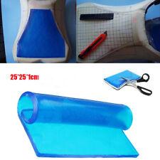 DIY Modified Seat Cushion Gel Motorcycle Mat ATV Pad Comfort 25 * 25 * 1cm Blue