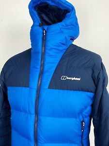 Berghaus   Ronnas Reflect Down Insulated Jacket M L (Blue) Outdoors Camping 90s