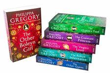 Philippa Gregory Tudor Court Novels 6 Book Collection Constant Princess, Boleyn