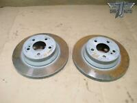 10-13 MERCEDES W212 E-CLASS E350 REAR LEFT & RIGHT BRAKE DISC ROTOR SET OEM