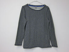 Talbots Polka Dot Knit Sweater - Womens Medium - Black - NWT