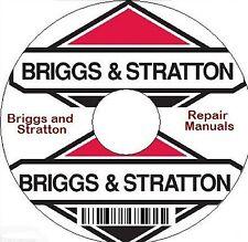 BRIGGS & STRATTON REPAIR MANUALS ON CD