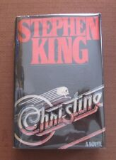 CHRISTINE by Stephen King -1st/1st HCDJ 1983 Viking - Carrie It Stand