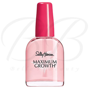 Sally Hansen MAXIMUM GROWTH Nail Care Treatment HARDENER Strengthener 13.3ml NEW