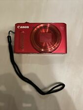 Canon PowerShot SX610 HS 20.2MP Digital Camera - Red.  No Battery Charger