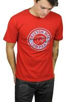 Brixton Mens Forte Standard S/S T-Shirt Scarlet M New