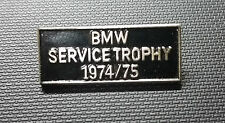 BMW Broche service Trophy 1974-75 laqué 25x10mm ALT + Original