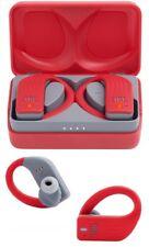 NEW JBL Endurance PEAK Wireless Bluetooth In-Ear Sport Headphones (RED)