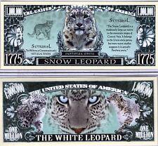 The Snow Leopard - Panthera Series Million Dollar Novelty Money