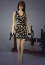 """1/6th Leopard Dress Skirt Clothes Accessories Model Toy For 12""""Female Body"""