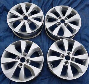 "Kia Rio 15"" Alloy Wheels PCD 4x100 5.5Jx15 ET36 529101W200"