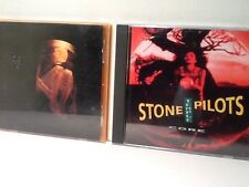 """2 CDs: Alice In Chains """"Nothing Safe"""" & Stone Temple Pilots """"Core""""."""