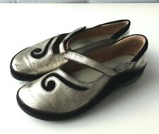 Women's Naot Matai Leather Mary Janes Shoes Sz 39/ 8 US