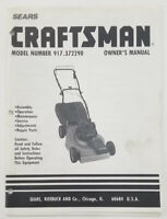 Sears Craftsman Lawn Riding Mower Tractor Owner Parts Manual 917 250730 Ebay