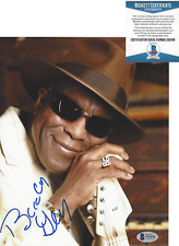 BUDDY GUY BLUES GUITARIST ICON SIGNED AUTHENTIC 8x10 PHOTO BECKETT BAS COA