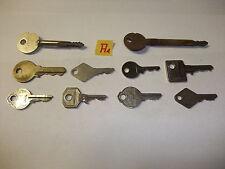 A1 Konvolut alte antike Schlüssel Sicherheitsschlüssel f Vorhängeschlösser Türen
