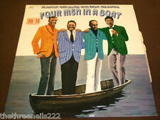 VINYL LP - FOUR MEN IN A BOAT - DOONICAN SECOMBE MANCINI BYGRAVES - ABBS 2