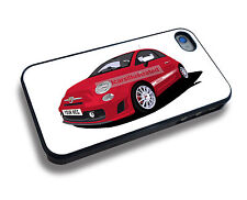 FIAT 500 ABARTH ESSESSE iPHONE 5/6/7/8/X PERSONALISED CLIP ON COVER