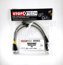 STOPTECH SS STAINLESS STEEL FRONT BRAKE LINES FOR 08-10 FORD FOCUS ST