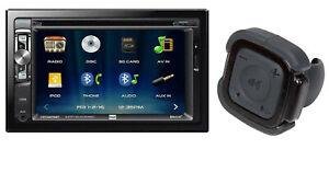 "DUAL XDVD276BT(R.B) Double Din 6.2"" Touchscreen DVD CD USB Bluetooth Car Stereo"