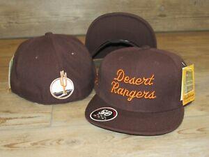 Desert Rangers Minor League Baseball Stall & Dean Fitted Hat Cap Men size 7 3/4