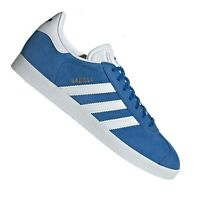 ADIDAS GAZELLE 9 US 8.5 UK 26.5CM MENS BOYS Blue/White Casual SHOES