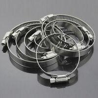 10X Edelstahl Schlauchschelle 8mm bis 12mm Hose Schlauchschellensatz Tube P U0K8
