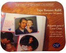 Creative Memories Tape Runner NIB 34 Feet Double Sided Adhesive Refill
