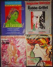 COLLECTIF - Magazine littéraire-N° 251. Ecrivains arabes d'aujourd'hui.