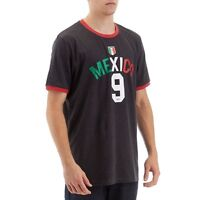 Umbro Mexico #9 Mens Dark Grey T-Shirt  NWT