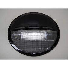 "12V 25W 9"" Oval Low Profile RV Trailer Camper Porch Scare Light / Black Base"